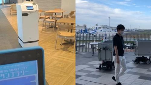 TISが羽田イノベーションシティや東京ビッグサイトで実施したロボットの実証実験