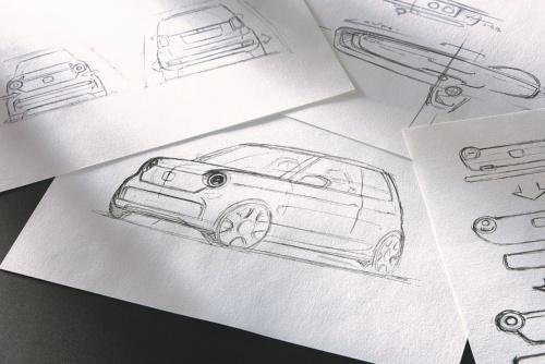 図2 新型N-ONEの開発時に描かれたスケッチ