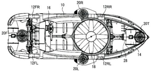 トヨタ自動車は「空飛ぶクルマ」の特許を出願済み