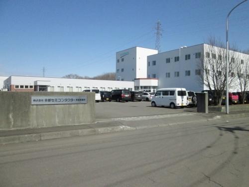 レトロフィットIoTを進める京都セミコンダクターの恵庭事業所(出所:京都セミコンダクター)