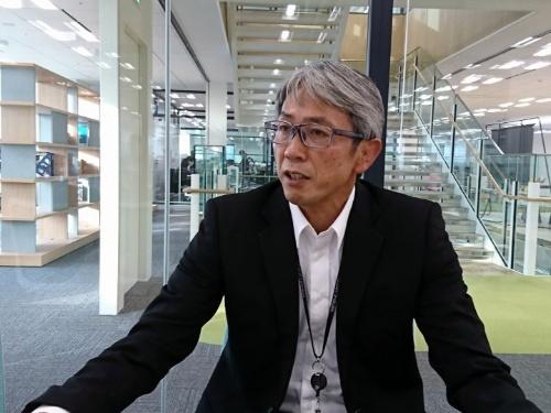 三菱食品 財経サポート本部 戦略オフィス 兼 デジタル戦略本部 デジタル戦略オフィスの松坂郁夫氏