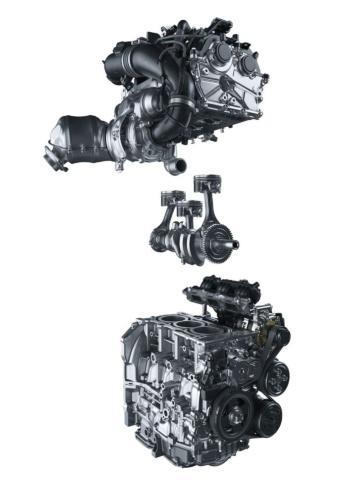 図1 トヨタ自動車が「GRヤリス」の一部グレードに搭載した排気量1.6Lのガソリンエンジン「G16E-GTS」