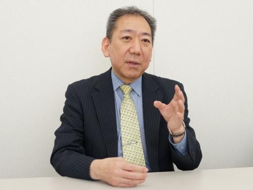「RPAなどによる庁内の働き方改革への貢献も期待している」と話す稲田情報企画調整官