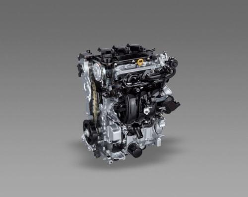 図1 トヨタ自動車の1.5L直列3気筒ガソリンエンジン「M15A-FXE」