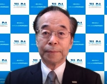 日本UAS産業振興協議会(JUIDA)の鈴木真二理事長