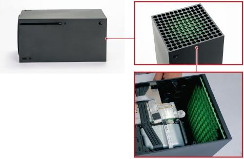 図1 小型化に加えデザイン重視のXbox Series X