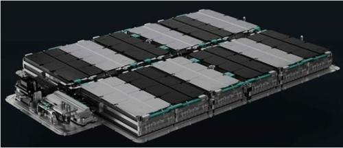 NIOが発表したEV向け電池パックのイメージ