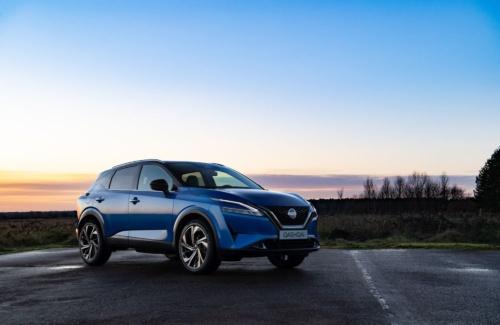 図1 日産自動車が21年2月中旬に発表した欧州市場向け新型SUV「キャシュカイ」