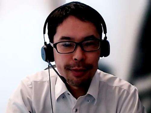 村田製作所デジタルイノベーション推進部推進1課 シニアマネージャの板谷昌治氏