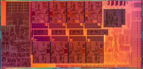 「第11世代 インテル Core Sシリーズ デスクトップ・プロセッサー」(開発コード名:Rocket Lake-S)のダイ写真