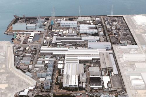 三菱パワー高砂工場の全景