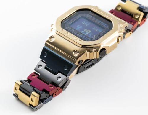 新チタン合金を使ったG-SHOCKの新製品「GMW-B5000TR」