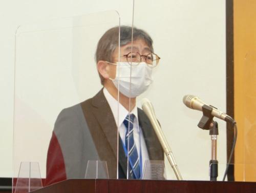 LINEへの行政処分を発表した個人情報保護委員会の松本秀一監視・監督室長