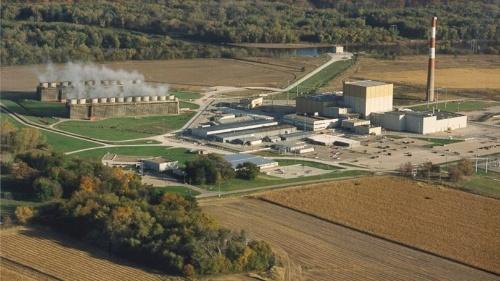 図2●アイオワ州で最後の原子力発電所