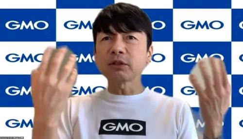 「NFTはIPホルダーを復権させる」と語るGMOインターネットの熊谷社長