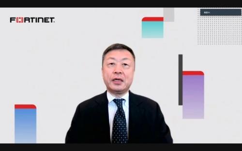 フォーティネットジャパンの西沢伸樹副社長兼マーケティング本部長