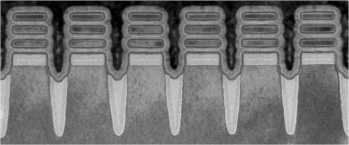 3層のナノシート構造を備えた2nmプロセスの半導体素子
