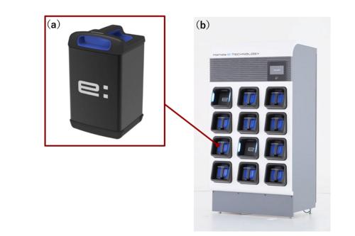 ホンダが出展した交換式電池パックの新構想
