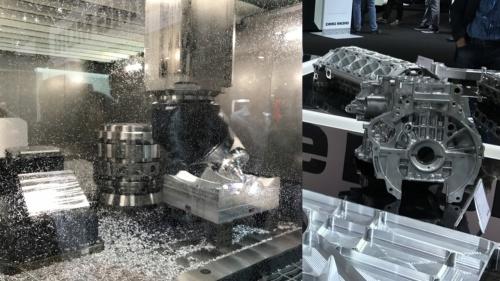自動車部品とそれらを加工する工作機械