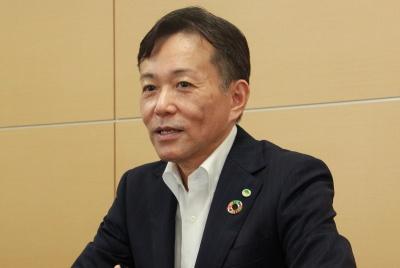 日立製作所の徳永俊昭副社長