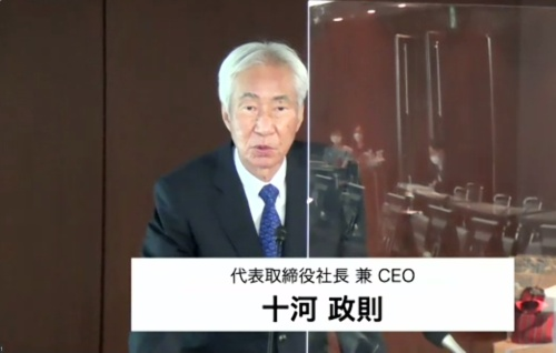 ダイキン工業代表取締役社長兼最高経営責任者(CEO)の十河政則氏