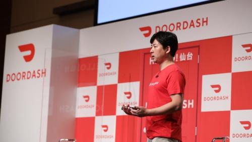 国内フードデリバリー市場参入を発表するDoorDash Japanの山本竜馬代表兼カントリーマネージャー