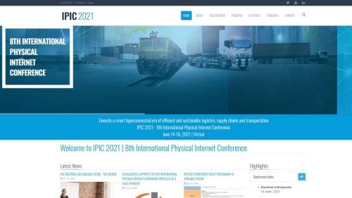 第8回国際フィジカルインターネット会議(IPIC)の公式サイト