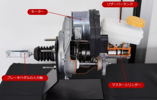 図1 ボッシュの電動油圧ブレーキ「iBooster」