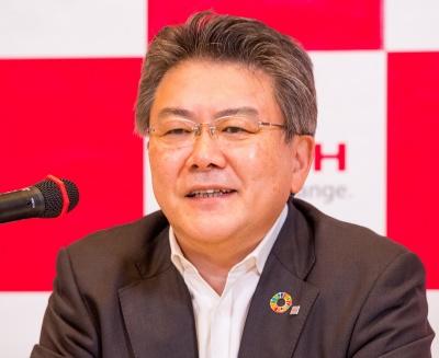 リコージャパンの坂主智弘社長