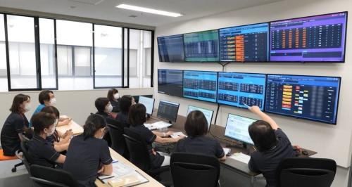 コマンドセンターの情報を活用しながら病床管理を実施する