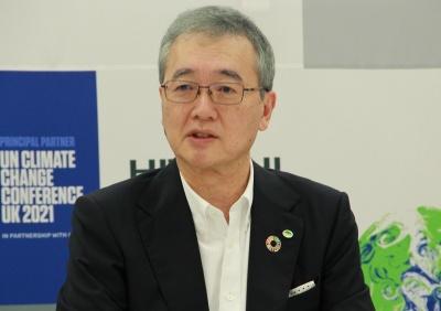 日立製作所の小島啓二社長兼COO