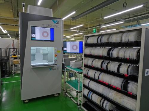 図1 OKIのEMS事業部が本庄工場に導入したX線計数装置