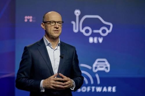 図1 VW最高財務責任者(CFO)のArno Antlitz(アルノ・アントリッツ)氏