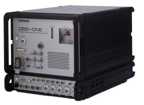 図1 IRLAMの技術を搭載した車載型排ガス測定装置(PEMS)「OBS-ONE-XL」