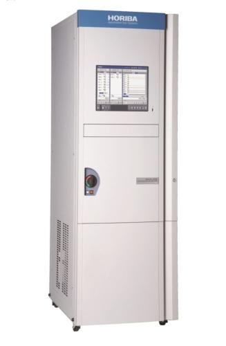 図2 IRLAMの技術を使ったガス濃度分析計「XLA-13H」「同11」が搭載されるエンジン排ガス測定装置「MEXA-ONE」