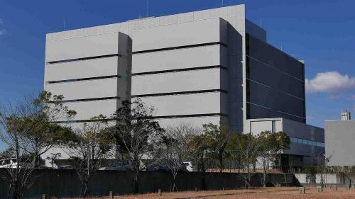 千葉県印西市にあるSCSKのデータセンター
