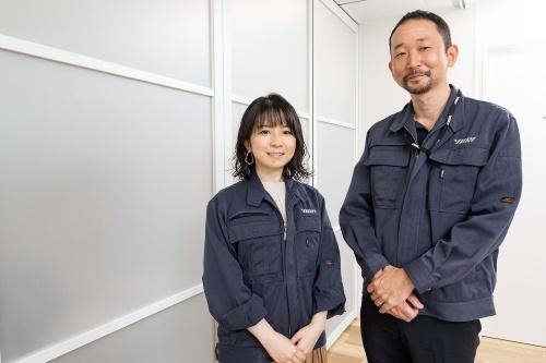 由紀精密取締役社長の永松純氏(右)と同社技術開発部開発部部長の松本幸子氏(左)