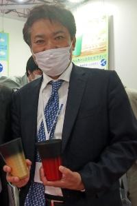 ペッカー精工代表取締役の小泉秀樹氏