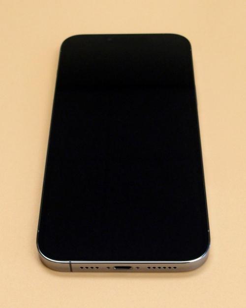 米国版「iPhone 13 Pro Max」の正面