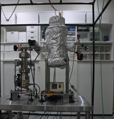 川崎市にある実験室の装置