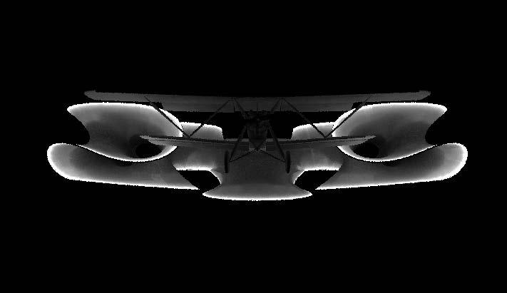 3Dモデルを使った照明解析。内照式の膜構造インスタレーションの照明効果を見る(写真:© Arup)