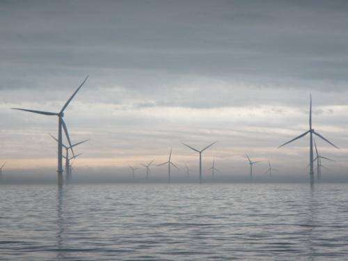 洋上風力発電ファームの景観(写真:©Arup)