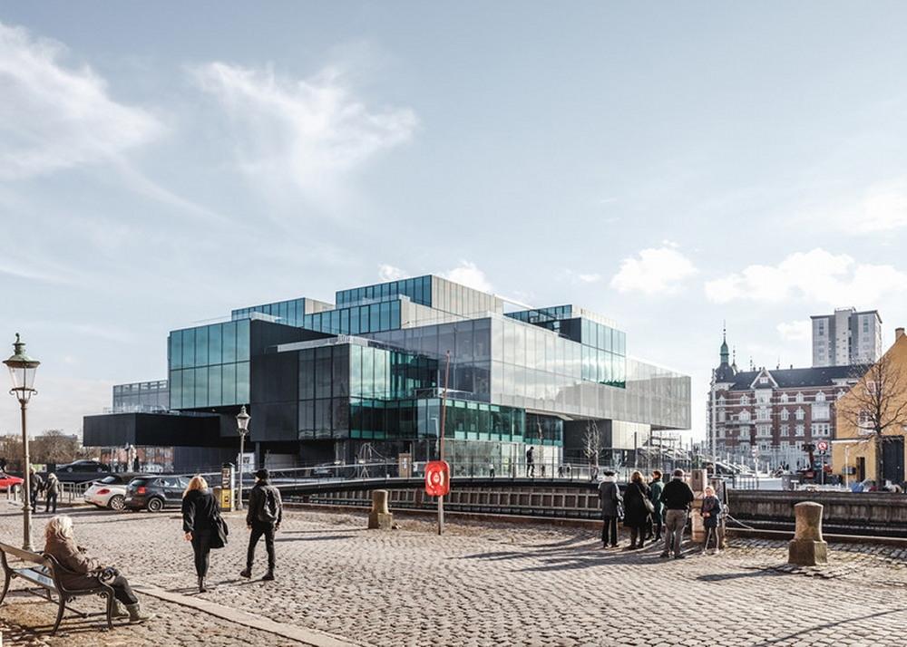 デンマーク・コペンハーゲンのウオーターフロントに新しくオープンした「BLOX」(写真:© Blox.de_Rasmus Hjortshoj)