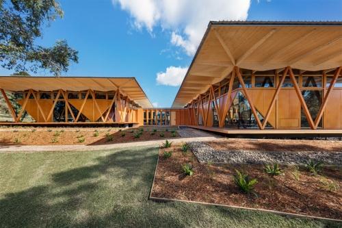 意匠設計は豪州の設計事務所Architectus。アラップは、構造設計、ファサードエンジニアリング、設備設計、環境コンサルティング、音響設計、照明デザイン、土木設計を担当した(写真:Murray Fredericks)