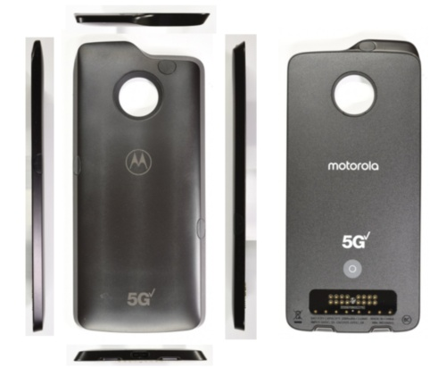 「5G moto mod」の製品外観