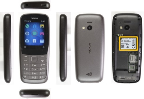 「Nokia 220 4G」の製品外観
