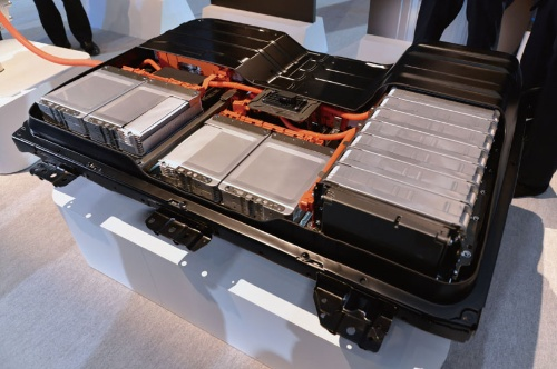 日産自動車のEVや「リーフ」に搭載したリチウムイオン2次電池パック
