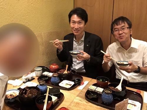 そのままで食べてよし、薬味を載せてよし、茶漬けにしてまたよしと、ひとつのお櫃で3度美味しい鰻業界の横綱相撲。堪能いたしました。
