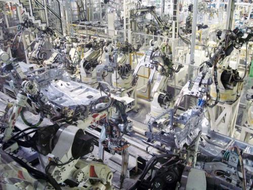 トヨタ自動車東日本の生産ライン