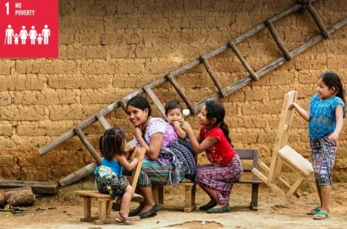 SDGsの第1の目標「貧困をなくす」